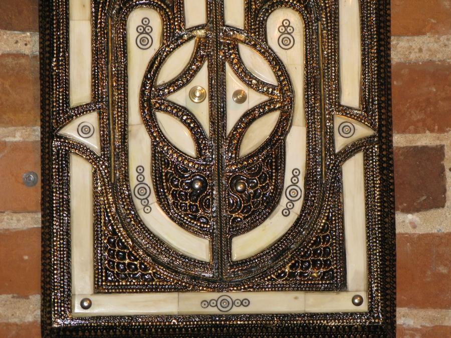 Moroccan Door Mirror Moroccan Mirror With Charm Hamsa
